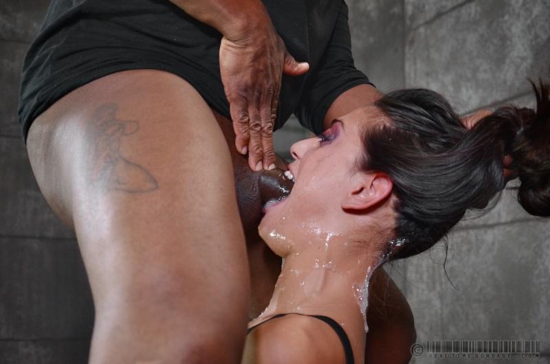 Tied Facefuck